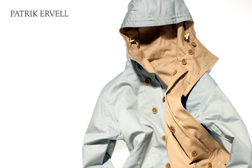 Patrik Ervell Reverisble Mountain Parka Trench