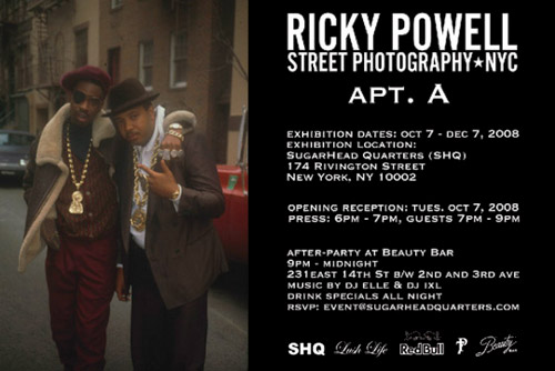 "Ricky Powell ""Apt. A"" Exhibition"