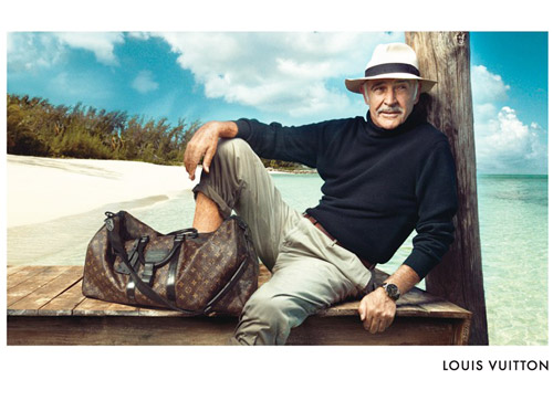 Sean Connery for Louis Vuitton Ad Campaign