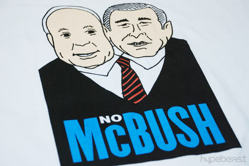 "Seymour Chwast x Freshjive ""McBush"" T-shirt"