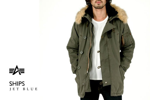 Ships General Supply x Alpha Industries N-3B