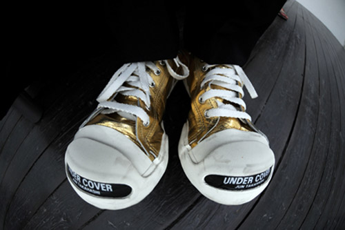 """SiLLY THING x Undercover """"Jack Purcell"""" - Gold & Red Colorways"""