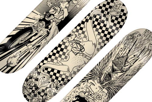 superFishal 2008 Fall/Winter Skatedeck Collection