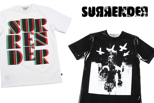 Surrender 2008 Fall/Winter Tees