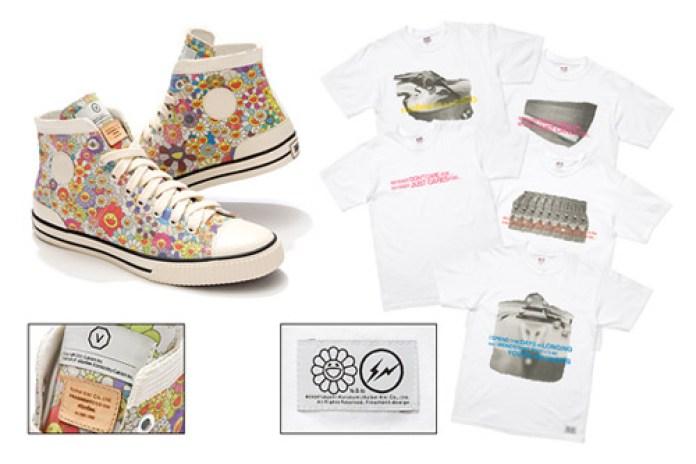 "Takashi Murakami x Hiroshi Fujiwara ""Hi & Lo"" Visvim Kiefer & Tees"