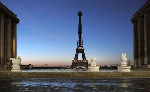 Tom Sachs Exhibition at The Eiffel Tower Paris