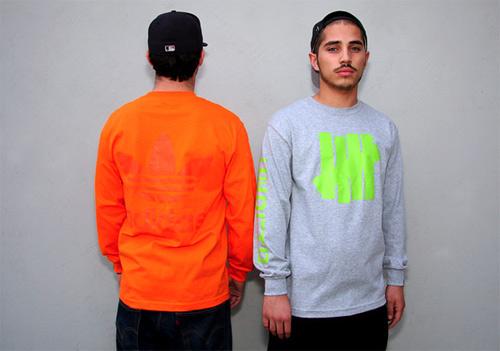 UNDFTD x adidas aZX Consoritum Long-Sleeve T-shirt