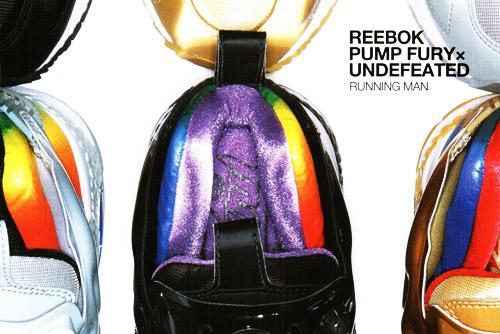 UNDFTD x Reebok Pump Fury Running Man