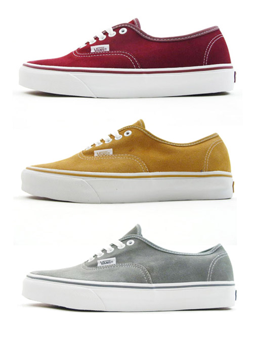 Vans Authentic Suede Pack Pt. 2