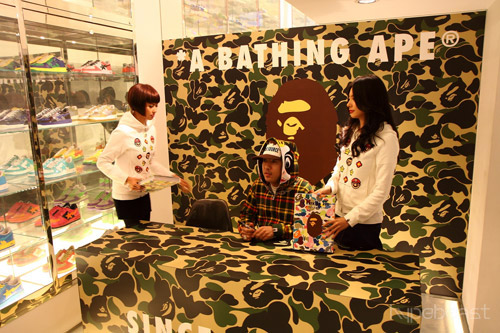 A Bathing Ape 15th Anniversary Hong Kong Book Signing