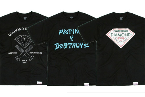 Active x Diamond Supply Co. P-Rod T-Shirts