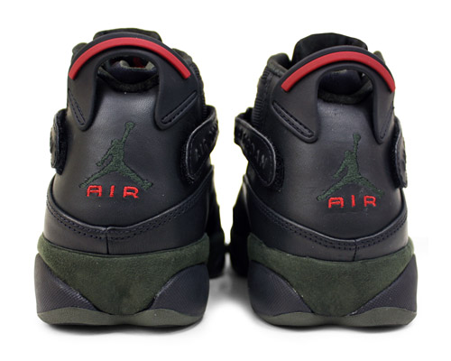 Air Jordan 6 Rings Olive Colorway
