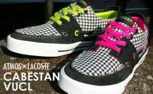atmos x Lacoste Cabestan Houndstooth Pack