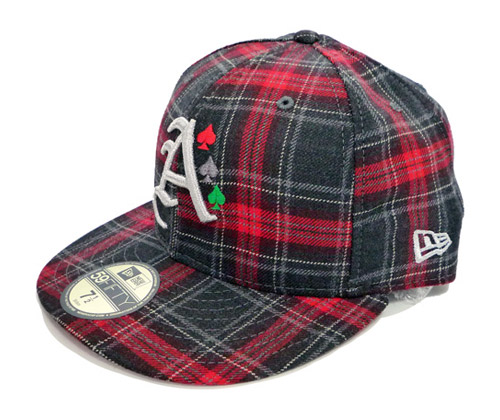 "atmos x New Era 59FIFTY ""Check"" Fitted Caps"