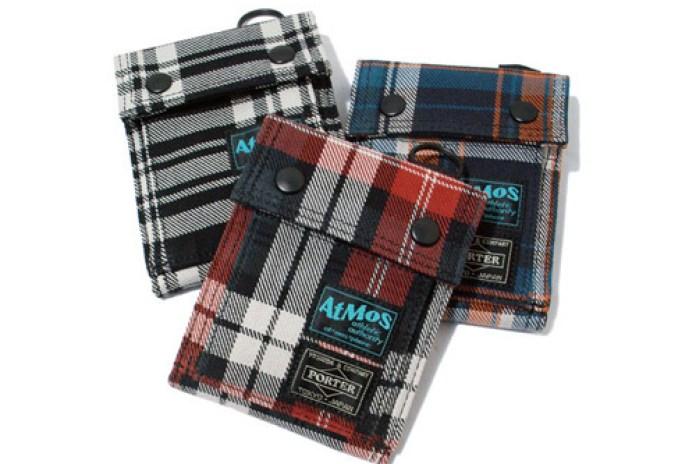 atmos x Porter Wool Checker Collection