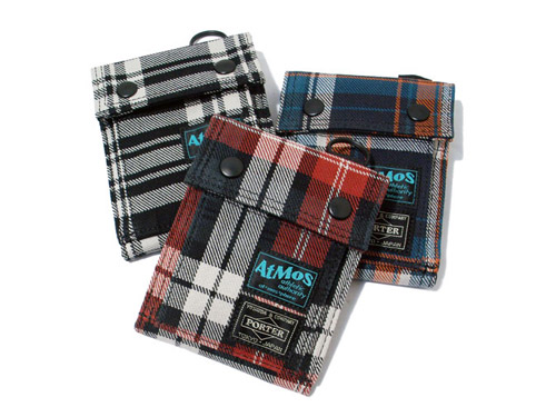 atmos x Porter Wool Checker Collection