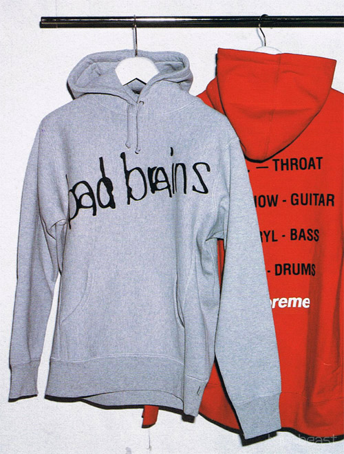 Bad Brains x Supreme 2008 Fall/Winter Collection
