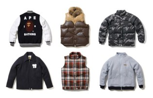 A Bathing Ape 2008 Fall/Winter Collection Newest Jackets