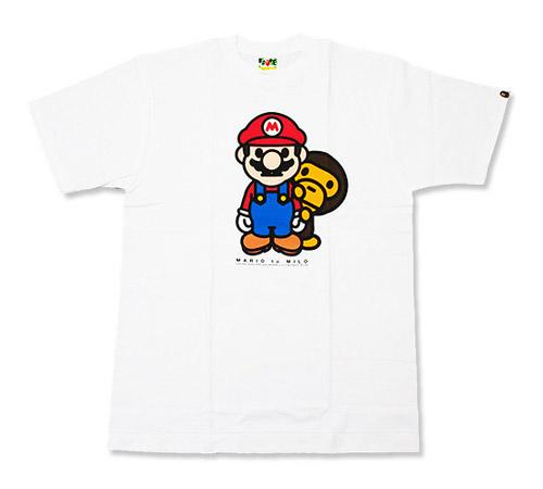 "A Bathing Ape Nigo's Favorite Shop ""Mario to Milo"" Tees"