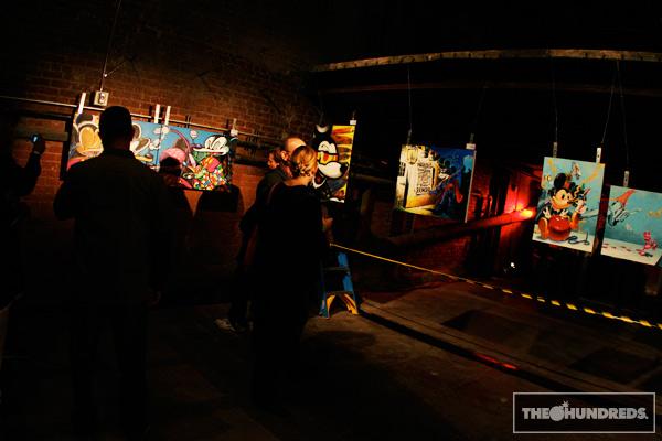 BLOC28 Auction for Art Share Los Angeles Exhibition Recap