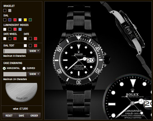 Bamford and Sons - Customized Rolex Submariner