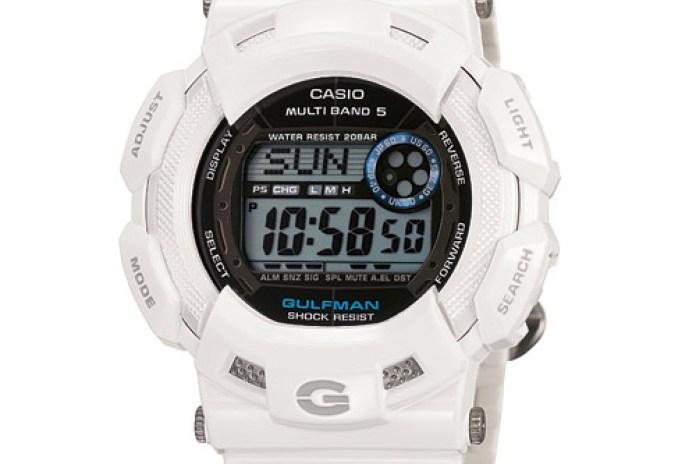 "Casio G-Shock ""Men in Ice White"" Pack"