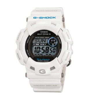 "Casio G-Shock ""Men in Ice White"" Pack"