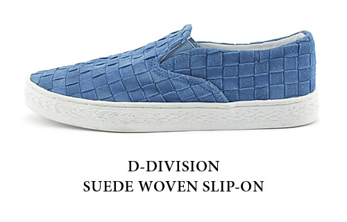 F-Troupe D-Division Woven Slip-On