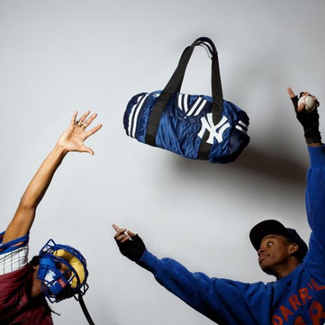 Dee and Ricky x No Mas Custom Starter Jacket Duffle Bags