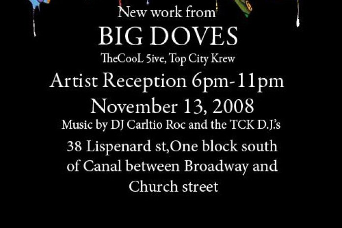 """DOVES"" Exhibition presented by Solefood NYC"