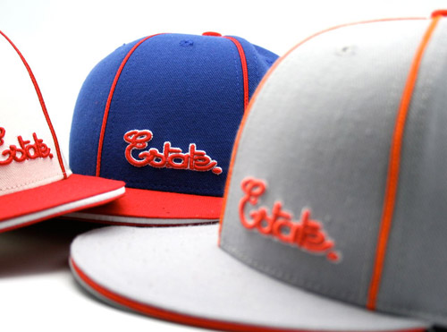 Estate LA Pinstripe Script Fitted Cap