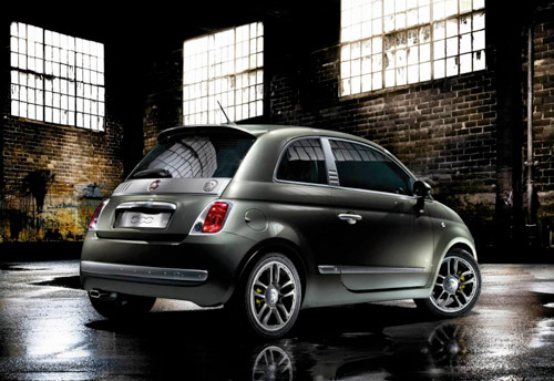 Fiat 500 Powered by Diesel
