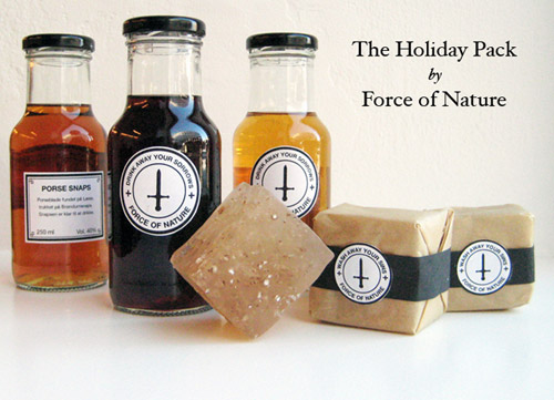 "Force of Nature ""Wash Away Your Sins"" Holiday Pack"