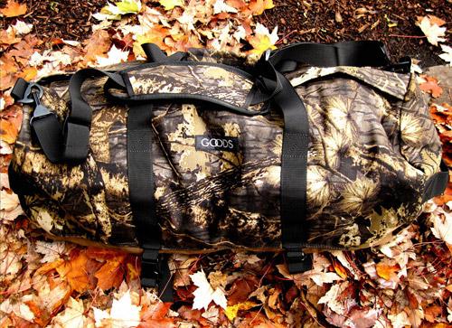 Goods Woodland Camo Duffle Bag