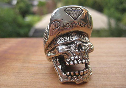 "Han Cholo x Diamond Supply Co. ""SK8 2 Death"" Pendant"