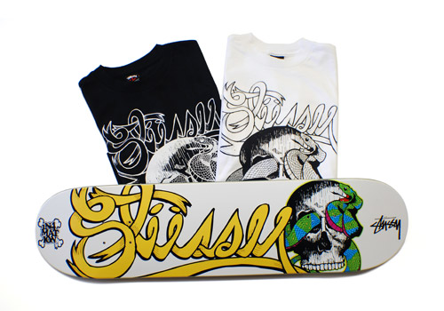 "In4mation x Stussy ""The Sophmore"" T-Shirt & Deck"