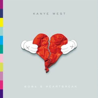 Kanye West - 808s & Heartbreak Album Cover by KAWS