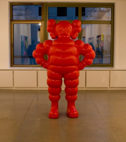 KAWS Exhibition at the Gering & López Gallery Recap