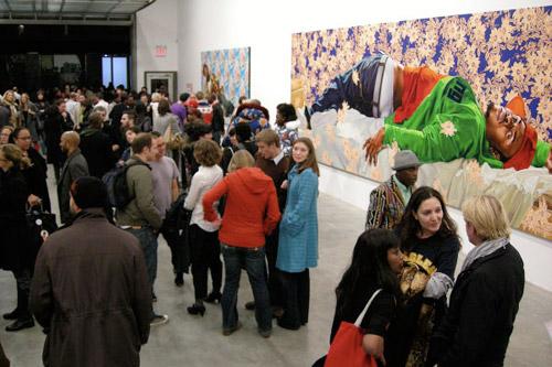 """Kehinde Wiley """"Down"""" Exhibition Recap"""