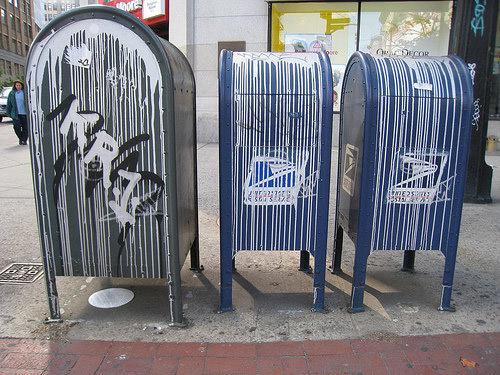 Krink Mailbox by Kidrobot
