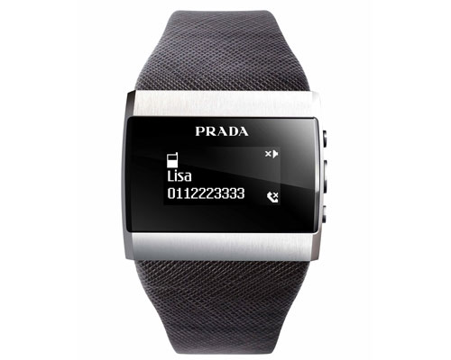 LG Prada II + Prada Link Bluetooth Watch