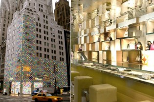 Louis Vuitton 5th Ave. Store Design by Takashi Murakami