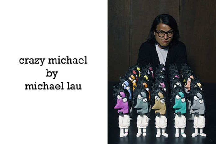 "Michael Lau ""Crazy Michael"" Vinyl Figurine Color Set"