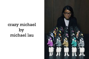 """Michael Lau """"Crazy Michael"""" Vinyl Figurine Color Set"""