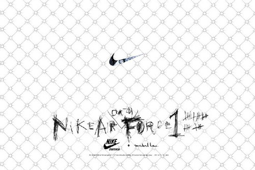 "Michael Lau x Nike 1World ""Air Crazy Force 1"" Exhibition"