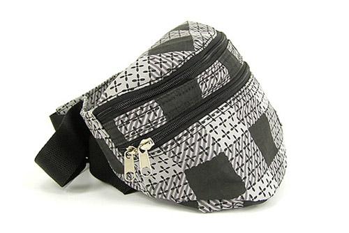 Montage Plaid Hip Bag