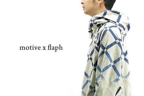 MOTIVE x flaph SP Check Jacket