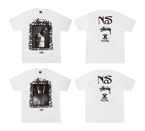 Nas x NexusVII x Stussy T-Shirt & Performance