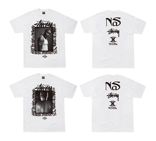 Nas x NexusVII x Stussy T-Shirt & Performance