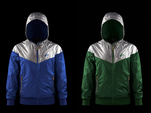 Nike 2008 Holiday Metallic Windrunner Collection